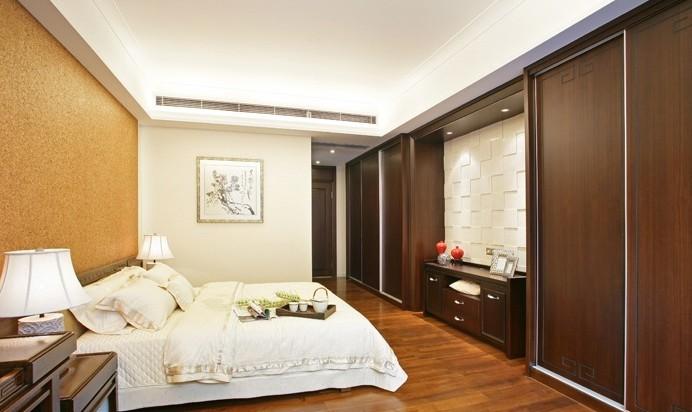 中式 别墅 卧室图片来自用户1907658205在18万呈现208平中式的迷人风采11的分享