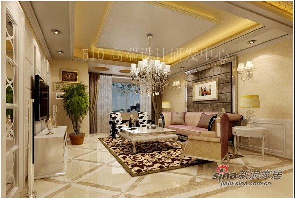 欧式 三居 客厅图片来自用户2746889121在高贵典雅的简欧72的分享