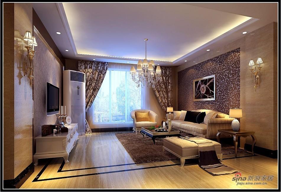 欧式 复式 客厅图片来自用户2757317061在欧式奢华—罗特鲁瓦的下午茶26的分享