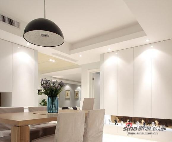 简约 三居 餐厅图片来自用户2737759857在时尚潮流98平演绎二居室美家74的分享