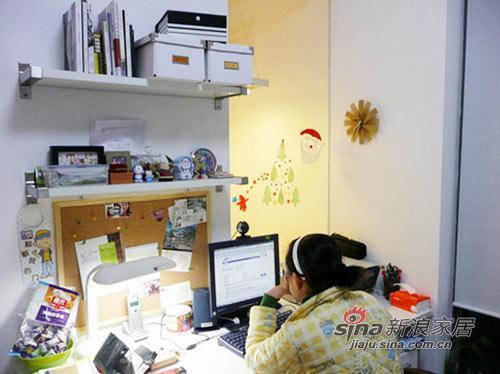 简约 二居 客厅图片来自用户2739081033在二人世界的甜蜜复式小2居34的分享