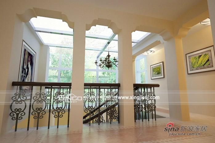 简约 别墅 楼梯图片来自用户2737782783在350平米温馨舒适 有品味的家44的分享
