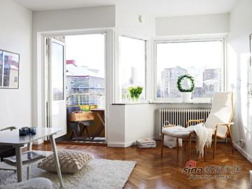 54平紧凑型纯白系单身公寓68