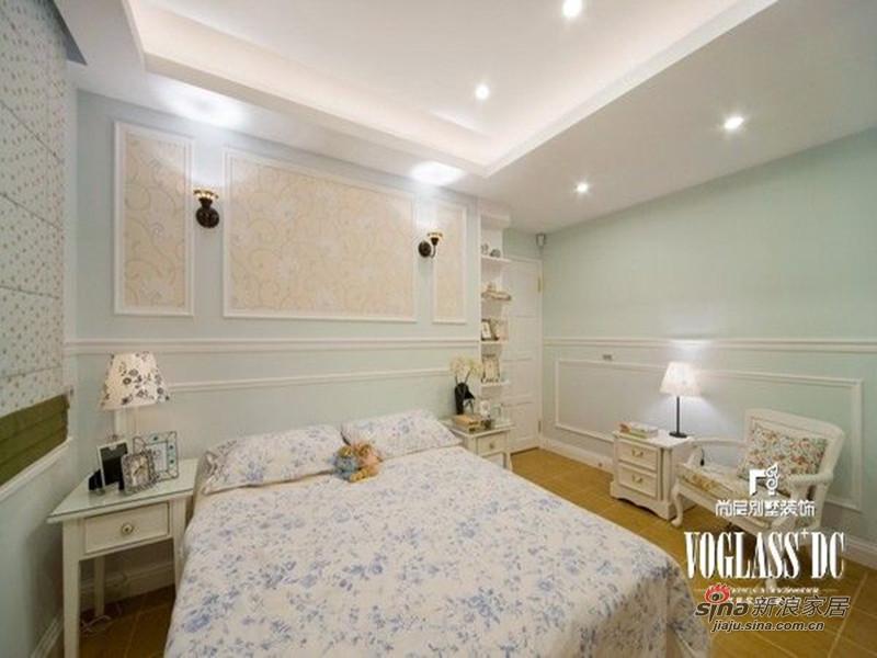 美式 别墅 卧室图片来自用户1907685403在欧香小镇517平美式乡村风格44的分享