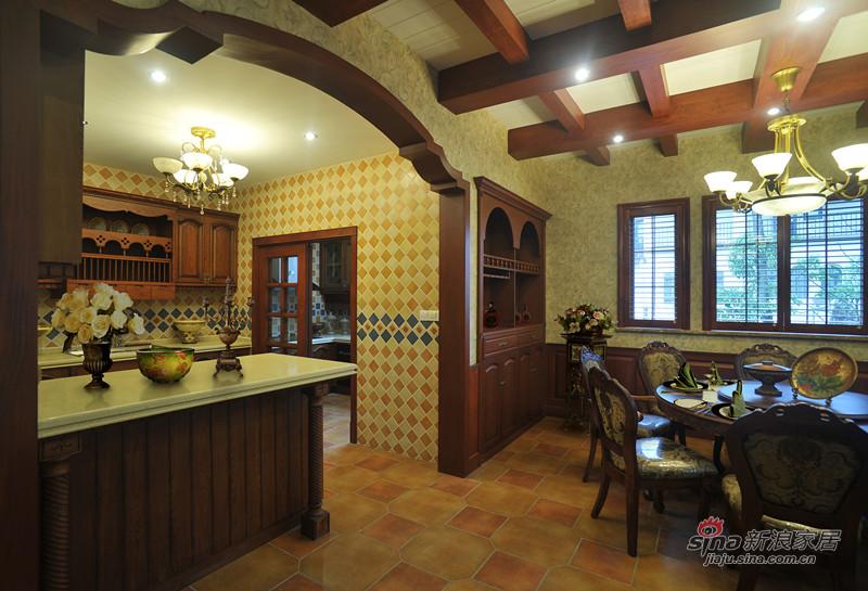 美式 别墅 客厅图片来自用户1907685403在美式休闲风格大别墅13的分享