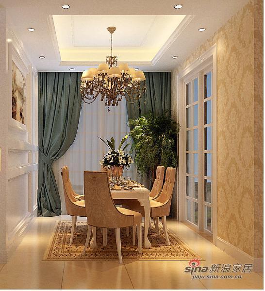 欧式 三居 餐厅图片来自用户2746869241在暖系时尚白领的家设计 清淡雅素有情调84的分享