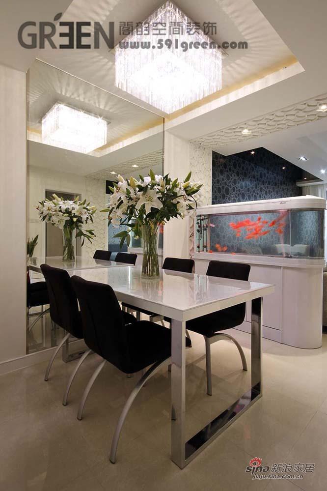 简约 二居 餐厅图片来自阁韵空间装饰在黑晶魔法27的分享
