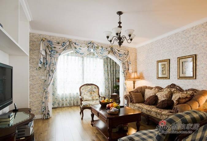 田园 二居 客厅图片来自用户2737791853在碎花田园控4W装95平美家99的分享