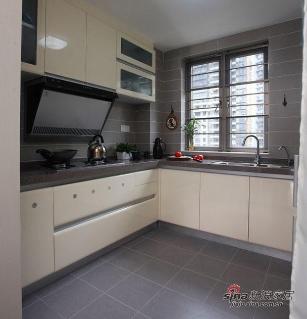 简约 三居 厨房图片来自用户2739153147在8万元演绎机简主义新居81的分享