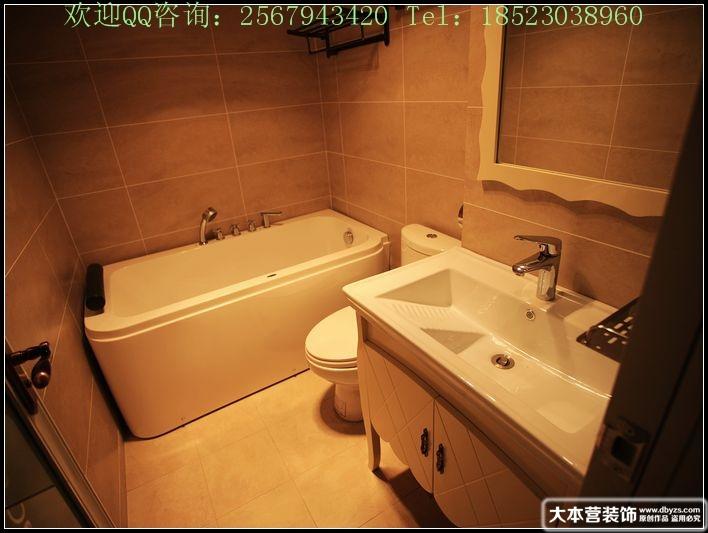 美式 三居 卫生间图片来自用户1907685403在【多图】日月光90平米现代美式风格39的分享