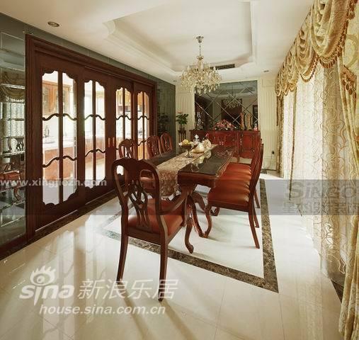 欧式 别墅 餐厅图片来自用户2772873991在大户人家的欧式大宅范儿84的分享