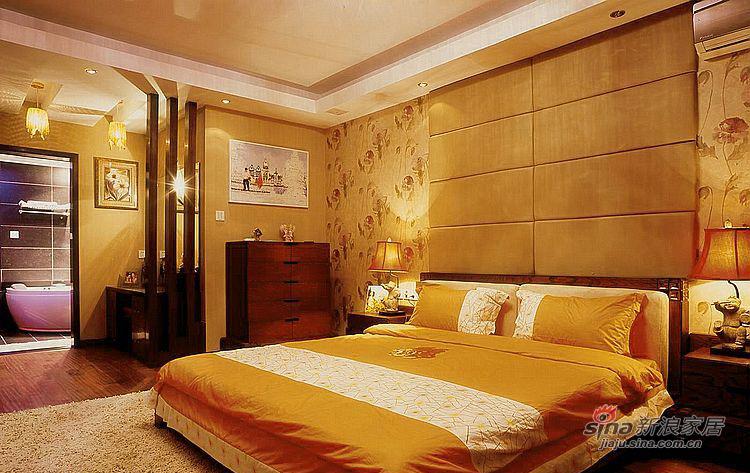 现代 二居 卧室图片来自装修微日记在【高清】夫妻12万打造96平现代雅致居85的分享