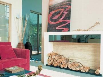 红色幽雅的现代简约私宅95
