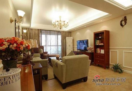 简约 三居 客厅图片来自用户2739153147在细节透细致 雅致三居是谁家13的分享