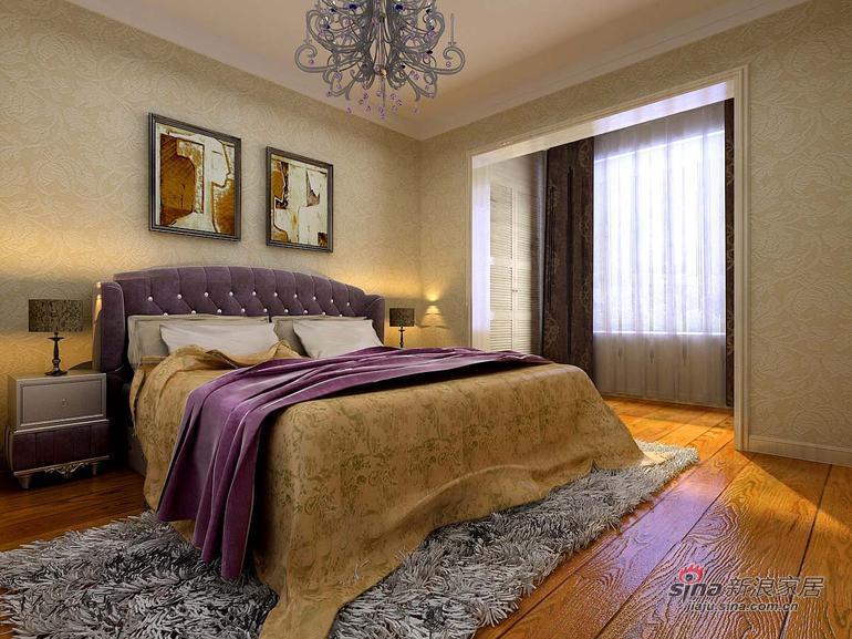 田园 三居 卧室图片来自用户2737946093在136平米田园风格精美案例39的分享