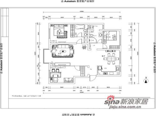 中式 三居 客厅图片来自用户1907659705在中式5000年文化呈现 高贵+稳重72的分享