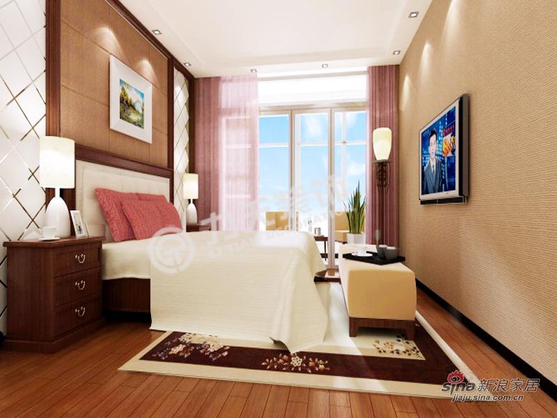 简约 三居 卧室图片来自阳光力天装饰在和平时光 -3室2厅1厨1卫-现代简约55的分享