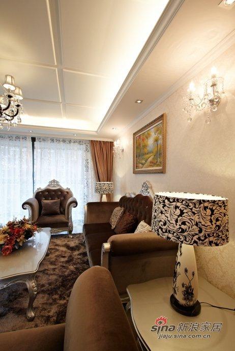 欧式 三居 客厅图片来自用户2772873991在城市小资的120平新古典欧式品质生活66的分享