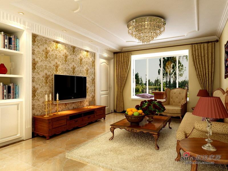 欧式 三居 客厅图片来自用户2757317061在原创8万精装140平简约欧式3室2厅49的分享