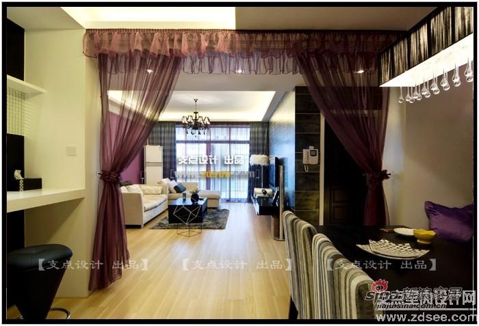 简约 三居 客厅图片来自用户2739378857在感性小两口紫惑新婚洞房(续)93的分享