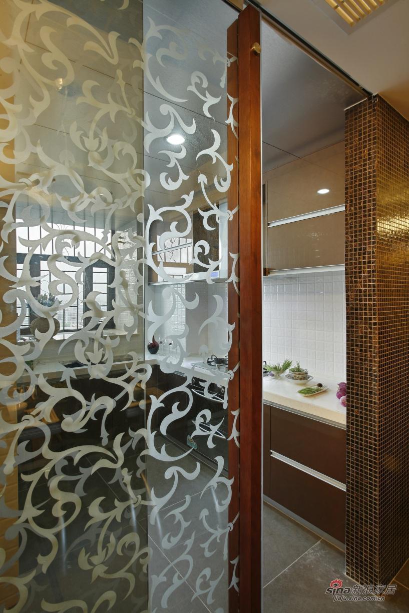 简约 复式 厨房图片来自用户2739081033在山语城(190平米)现代简约设计案例37的分享