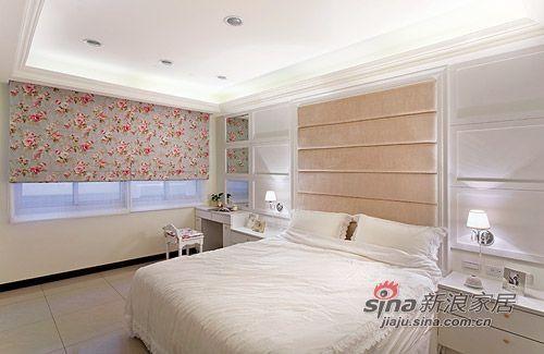 美式 三居 卧室图片来自用户1907685403在8万营造105平美式浪漫3居47的分享