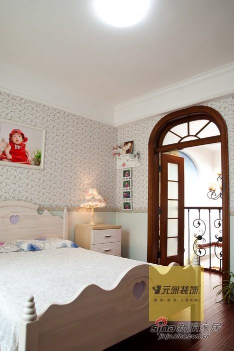 美式 别墅 卧室图片来自用户1907686233在270平米龙熙顺景别墅美式风格装修29的分享