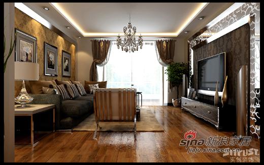 欧式 三居 客厅图片来自用户2746869241在花8万元打造低调奢华的138平欧式87的分享