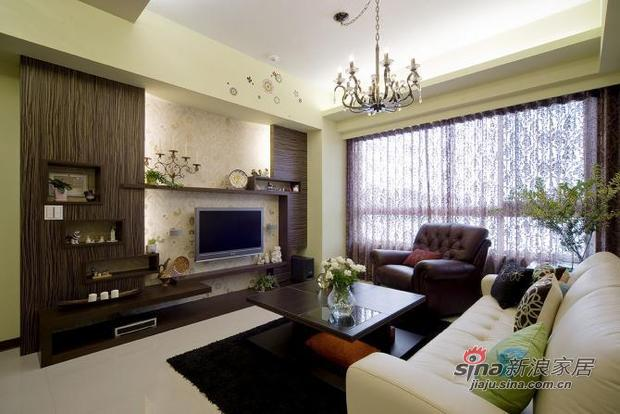 新古典 二居 客厅图片来自用户1907664341在新颖别致的古典主义的分享