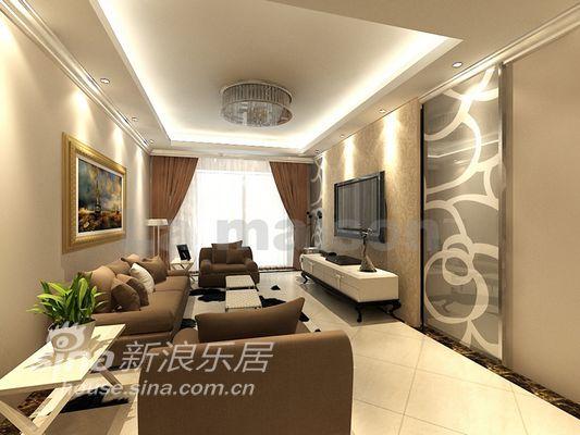 简约 三居 客厅图片来自用户2738820801在美颂巴黎设计42的分享