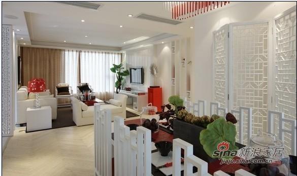 简约 二居 客厅图片来自用户2738820801在现代简约融合中式元素的80后婚房72的分享