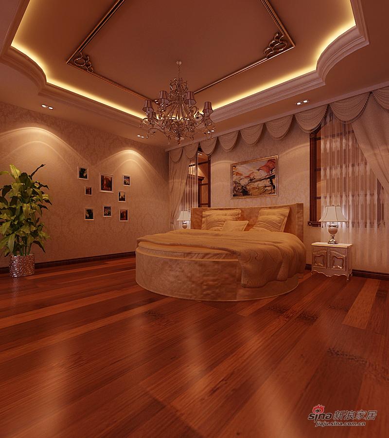 欧式 复式 卧室图片来自用户2772856065在橡树湾复式欧装精品30的分享