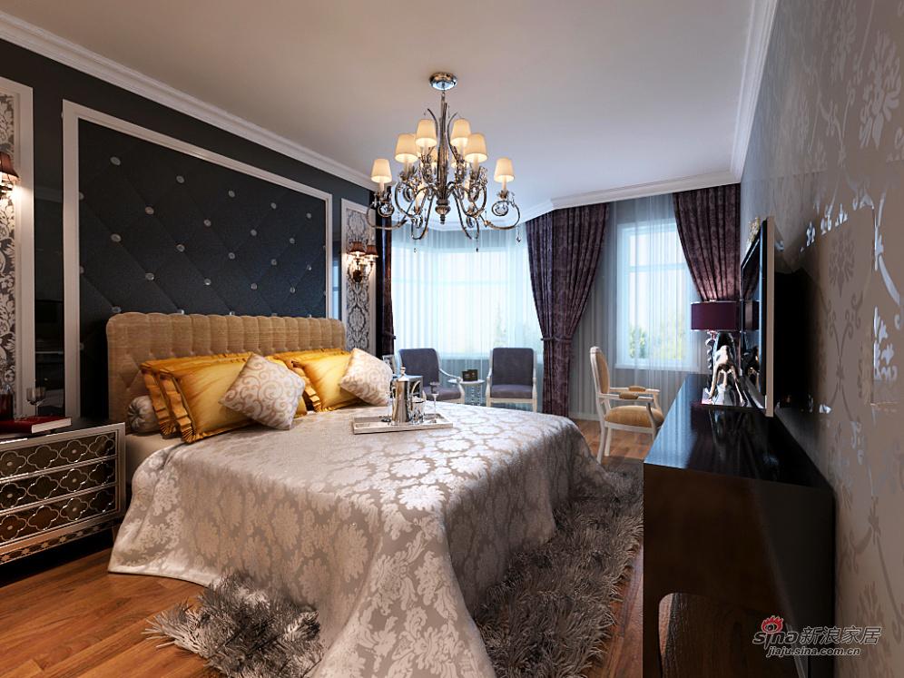 欧式 别墅 卧室图片来自用户2746869241在290平低调奢华欧式大宅风范(高清)50的分享