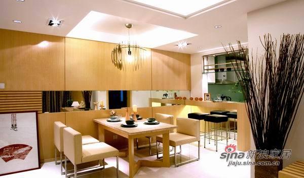 现代 三居 餐厅图片来自佰辰生活装饰在9万装100平简约而又温馨家30的分享
