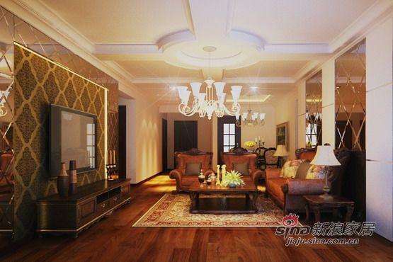 欧式 三居 客厅图片来自用户2746953981在【宏发长岛】150平米宜家简约欧式99的分享