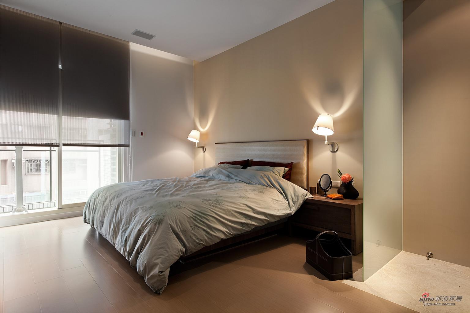 简约 二居 卧室图片来自用户2738093703在港式二居室88的分享