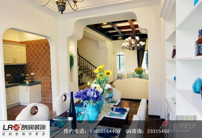地中海 四居 客厅图片来自装修微日记在【高清】新婚夫妻180平地中海温馨4居室85的分享