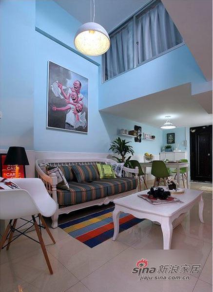 地中海 跃层 客厅图片来自用户2756243717在我的专辑367367的分享