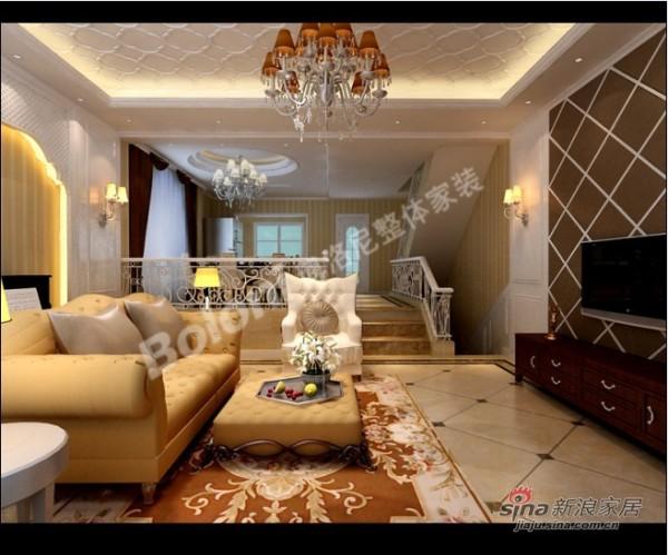 别墅户型现代欧式风格设计