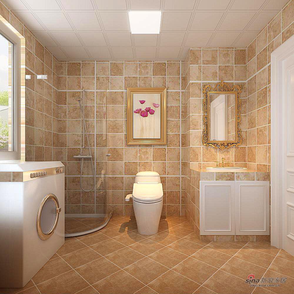 田园 三居 卫生间图片来自用户2557006183在伊湾尊府简约田园62的分享