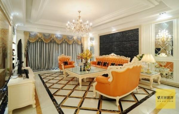 达观别墅欧式新古典310平米别墅设计