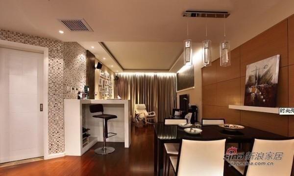 白领6.2万改装95平现代个性两居室