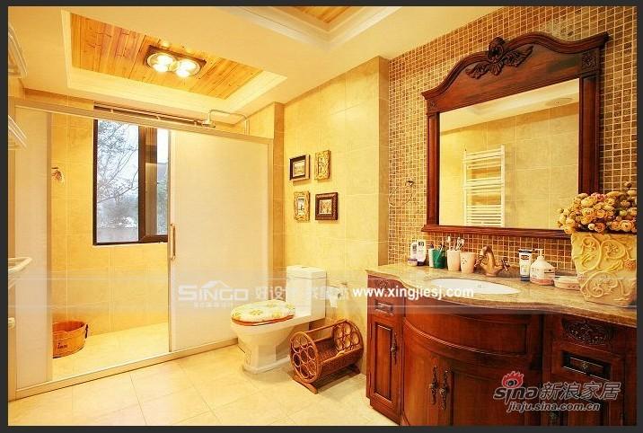 欧式 别墅 卫生间图片来自用户2746948411在古典欧式61的分享