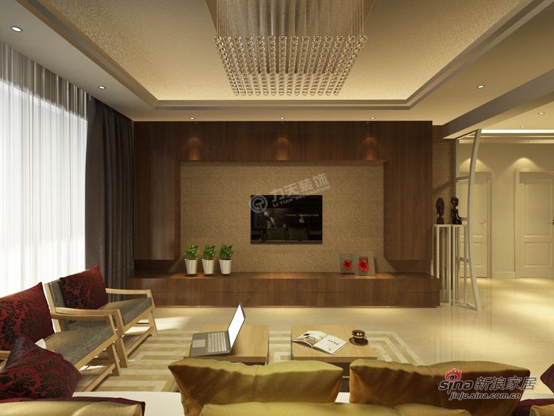 简约 二居 客厅图片来自用户2737786973在振业城中央 120㎡-二室一厅-现代简约76的分享