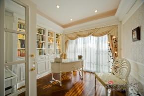 地中海 三居 书房 白富美图片来自用户2756243717在现代简约三居设计78的分享