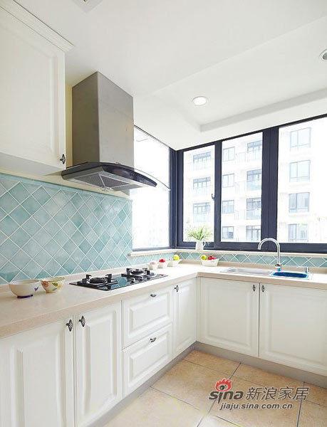 北欧 三居 厨房图片来自用户1903515612在6.4万半包98平北欧清新田园3居15的分享