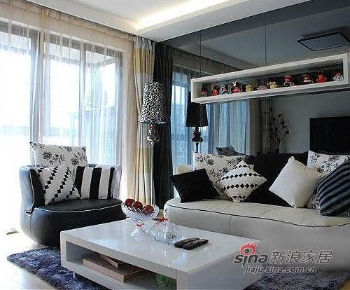 简约 二居 客厅图片来自用户2738845145在4.23万 打造55平现代简约风87的分享