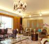 客厅不同款式的沙发搭配在一起