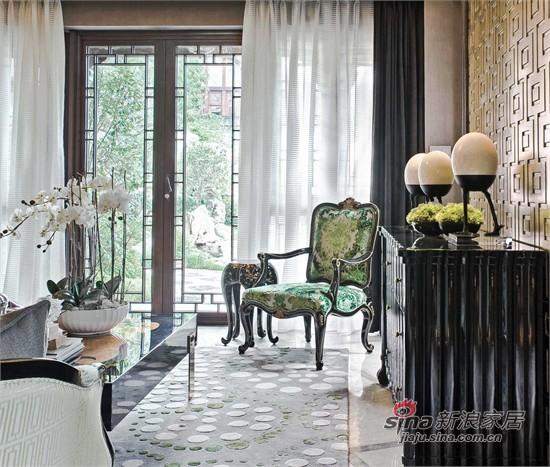 中式 三居 客厅图片来自用户1907661335在小桥流水15万装108平江南中式家70的分享