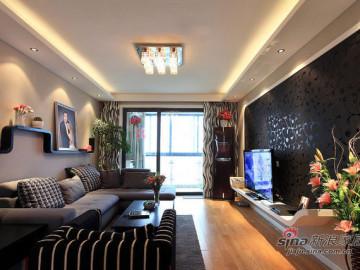 长滩壹號三居室现代风格91